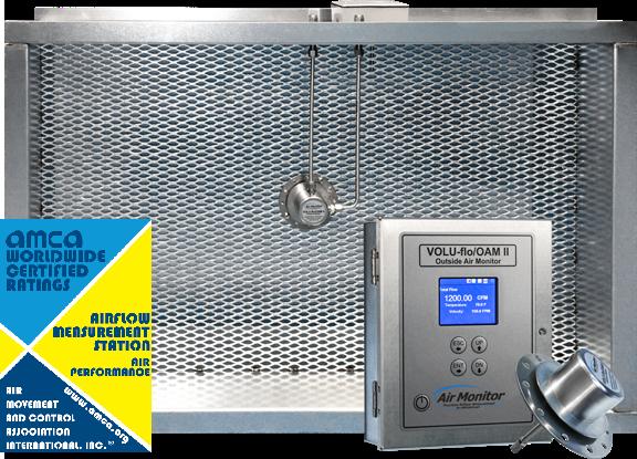 outdoor airflow measurement