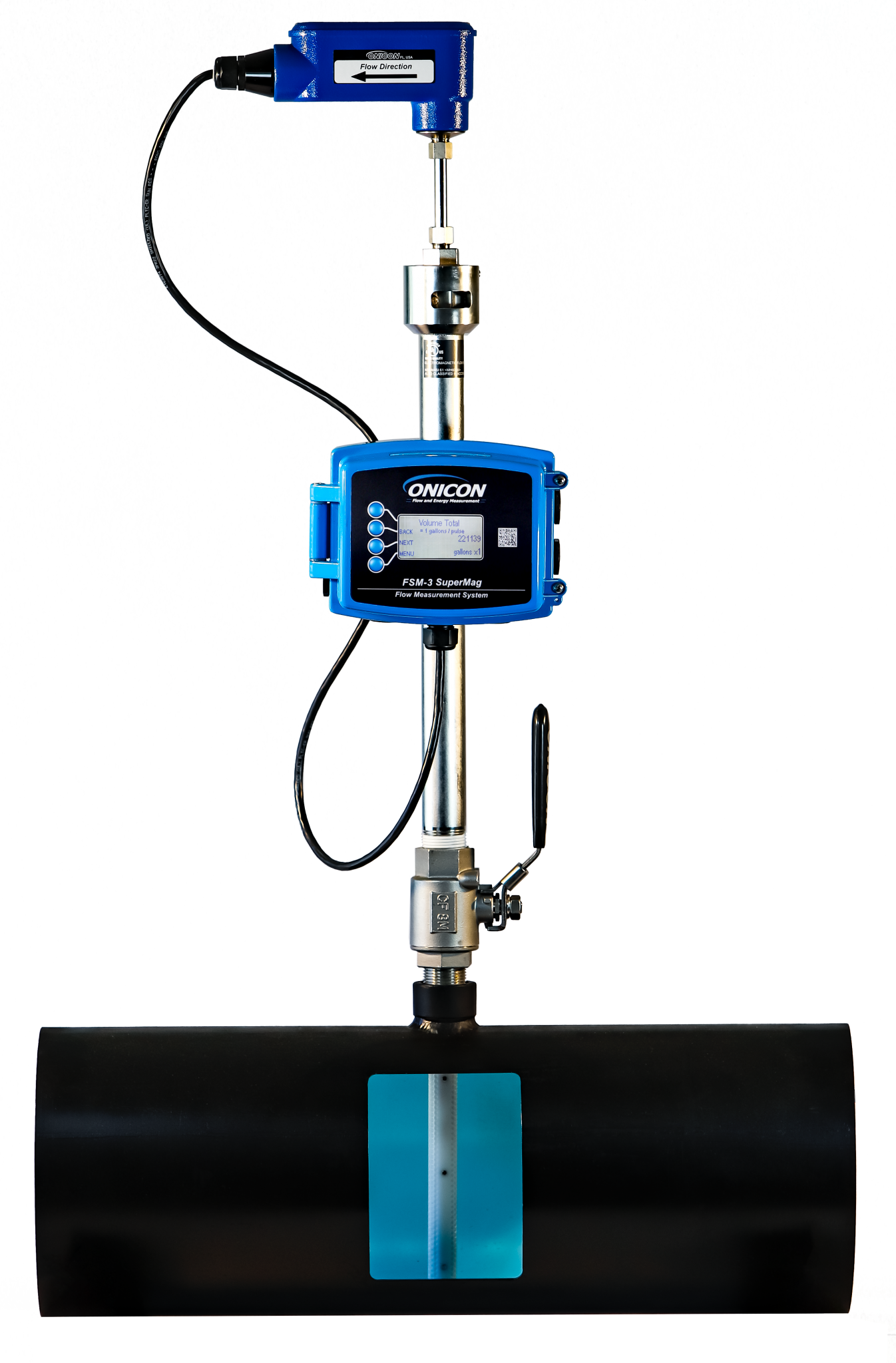 FSM-3 Series Supermag Insertion Flow Meter